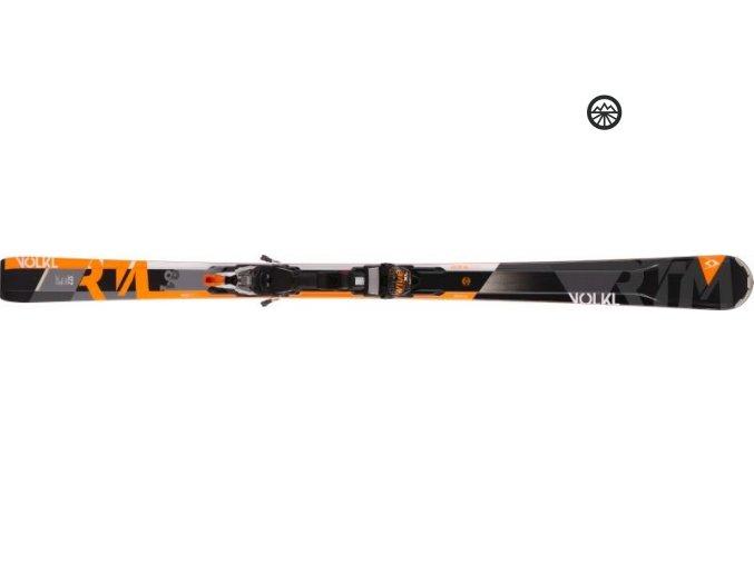 Lyže Völkl RTM 81+iPT WR XL 12 TCX D 163 cm