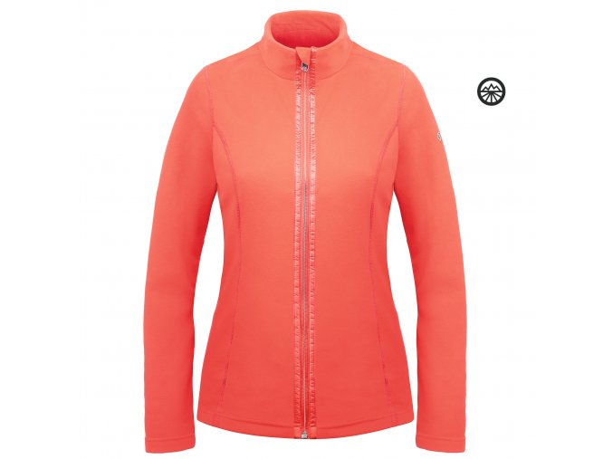 POIVRE BLANC Fleece jacket M nectar orange