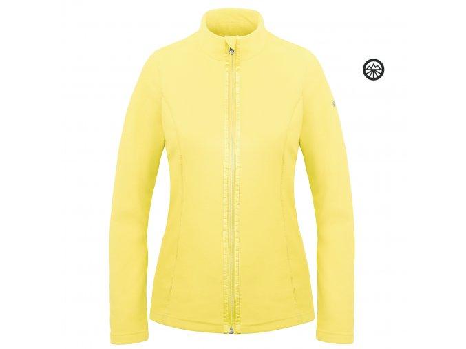 POIVRE BLANC Fleece jacket empire yellow