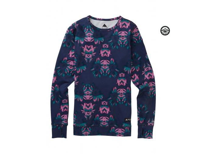Funkční prádlo WB MDWT CREW DRESS BLUE STYLUS 2020