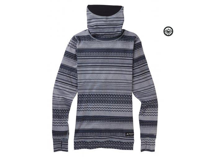 Funkční prádlo WB MDWT LONG NECK GRAY REVEL 2020