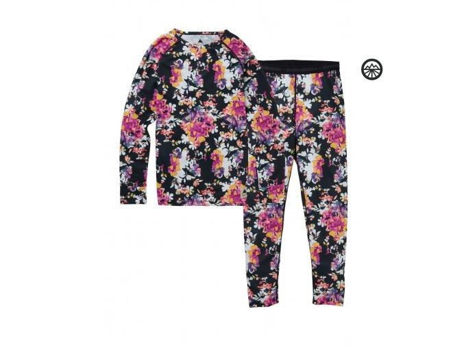Funkční prádlo KIDS 1ST LAYER SET SECRET GARDEN 2020 L