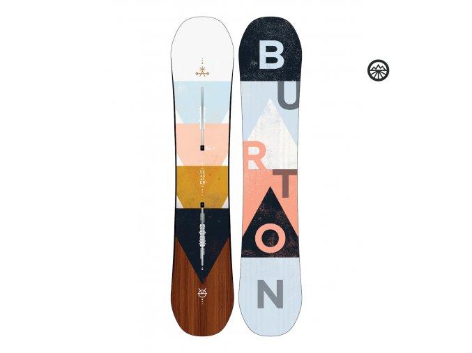 Snowboard BURTON YEASAYER NO COLOR 2020