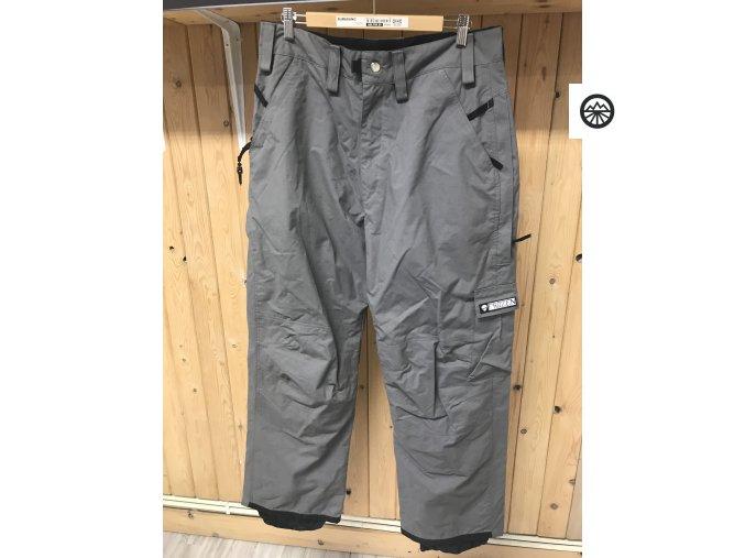 Kalhoty zimní pánske šedé FROZEN 52