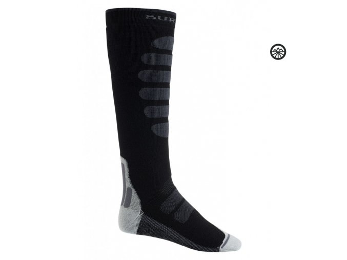 ponožky BURTON PRFRMNC+ LW SK TRUE BLCK L 44-47
