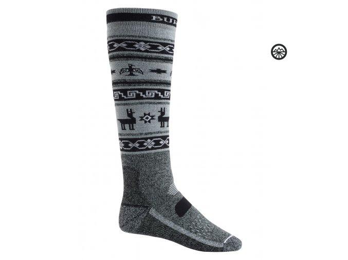 Ponožky BURTON M PRFRMNC MW SK TRUE BLACK HEATHER 2020