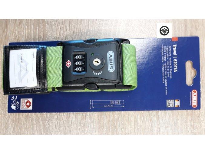 620TSA/192 Popruh na zavazadla - 620TSA/192 zelený