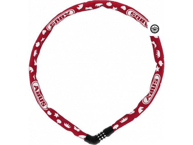 4804C/75 red SYMBOLS Steel-O-Chain
