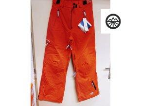Dám. zimní kalhoty EXXTASY BABE  ORANGE 42