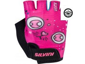 Dětské cyklistické rukavice Punta