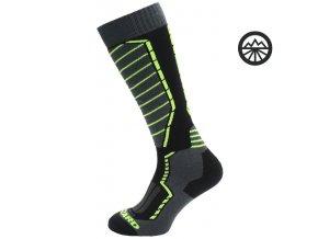 ponožky BLIZZARD profi Ski signal yellow