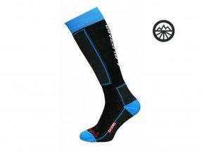 54154 ponozky blizzard skiing junior blue