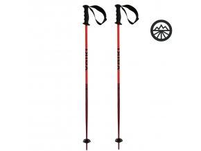 Hole Völkl Speedstick JR red poles 100cm