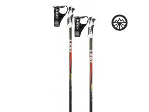 LEKI SPARK S anthr./white/red/neonyellow 110 cm