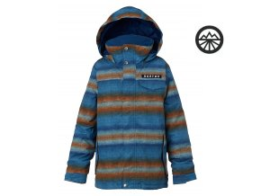 BURTON BOYS AMPED Jakcket Glacier beach stripe