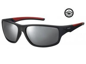 Slun.brýle POLAROID 7010/S blk rd gld/pol. Grey