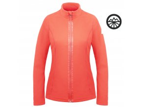 POIVRE BLANC Fleece jacket M nectar orange