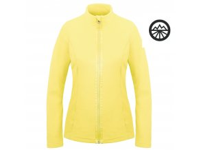 POIVRE BLANC Fleece jacket empire yellow
