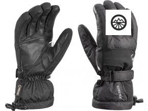 Rukavice LEKI Scuol S GTX black