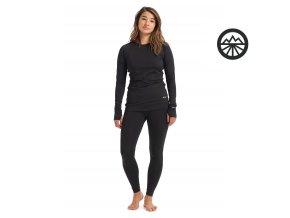 Funkční prádlo WB LTWT PANT TRUE BLACK 2020