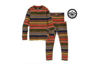 Funkční prádlo KIDS FLC SET GRATZ STRIPE 2020
