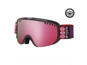 BOLLE SCARLETT SHINY PINK PLAID & Pink Vermillon G