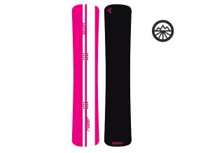 Snowboard Beany Ripper pink BX