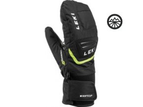 Rukavice LEKI Griffin S Junior Mitt blck/yellow 19/20