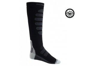 Ponožky BURTON M PRFRMNC PLS MW SK TRUE BLACK L