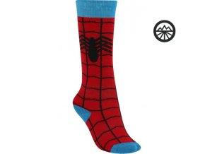 Ponožky BURTON YOUTH PARTY SK SPIDER-MAN  S/M