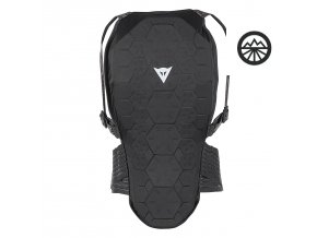 dainese w flexagon back protector 18b dai 4879959 black 1