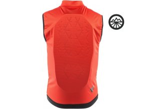 Dainese Scarabeo Flex Lite red black hinten 1