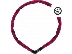 4804C/75 pink SYMBOLS Steel-O-Chain