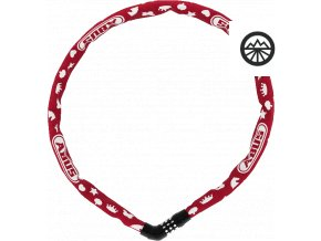 4804C/75 red SYMBOLS Steel-O-Chain