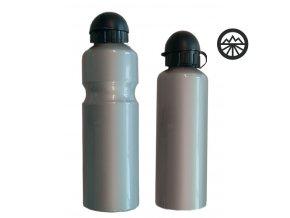 Láhev ALU 750ml stříbrná