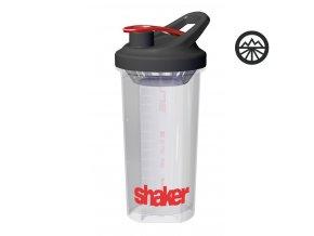 Láhev Shaker Elite 700ml, transparentní