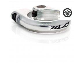 Podsedlová objímka XLC PC-B02 28,6mm stříbrná