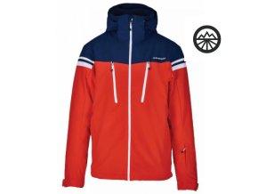 Pánská bunda BLIZZARD Civetta,red- dark blue S
