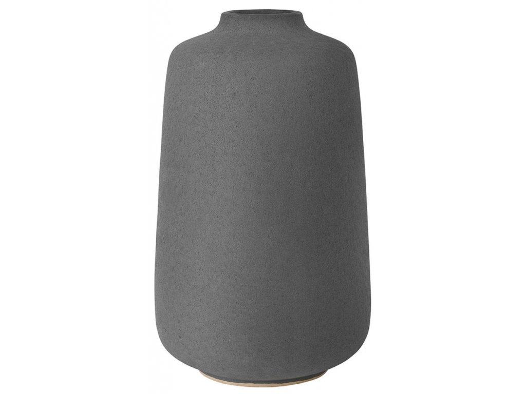 1418 4 rudea antracitova vaza vysoka