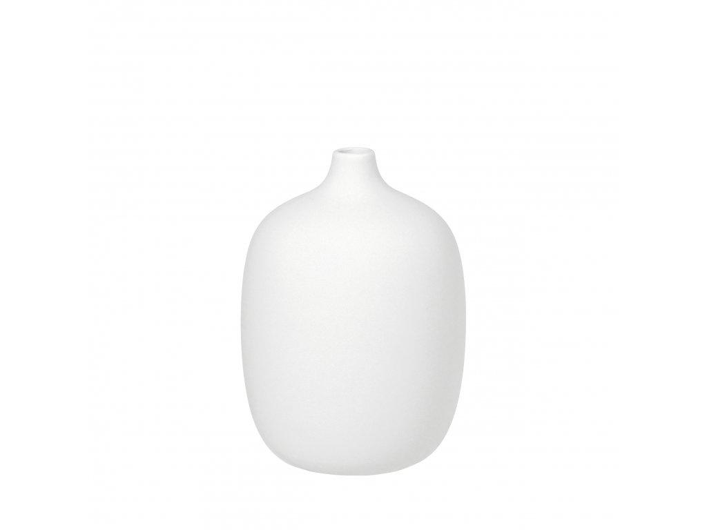 1703 1 ceola bila vaza 18 5 cm