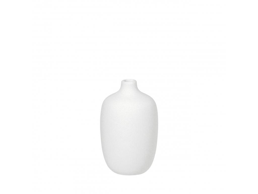 1706 1 ceola bila vaza 13 cm