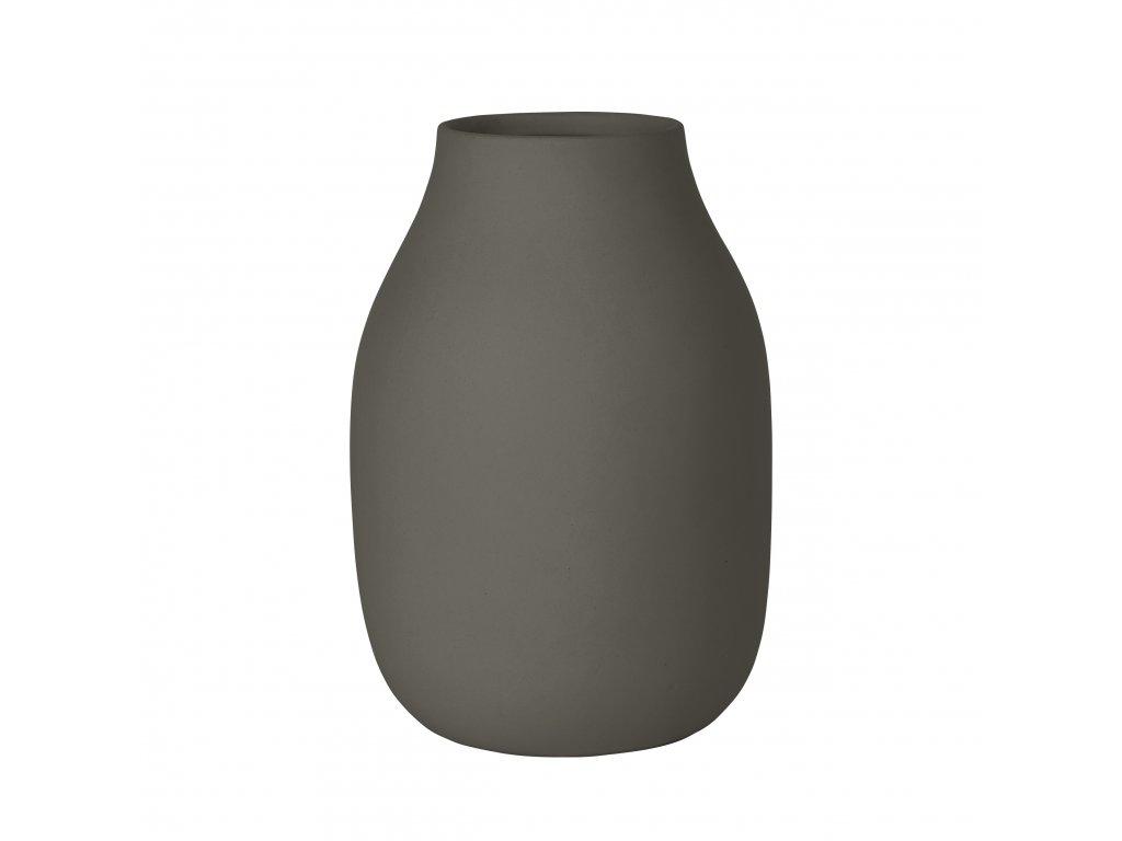1745 1 colora vaza ocelove seda 20 cm