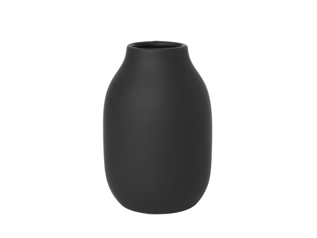 1751 1 colora vaza cerna 15 cm