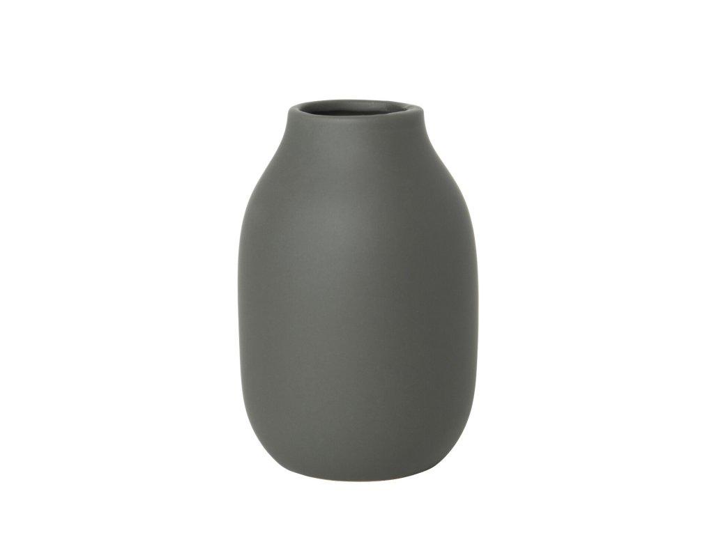1757 1 colora vaza khaki zelena 15 cm