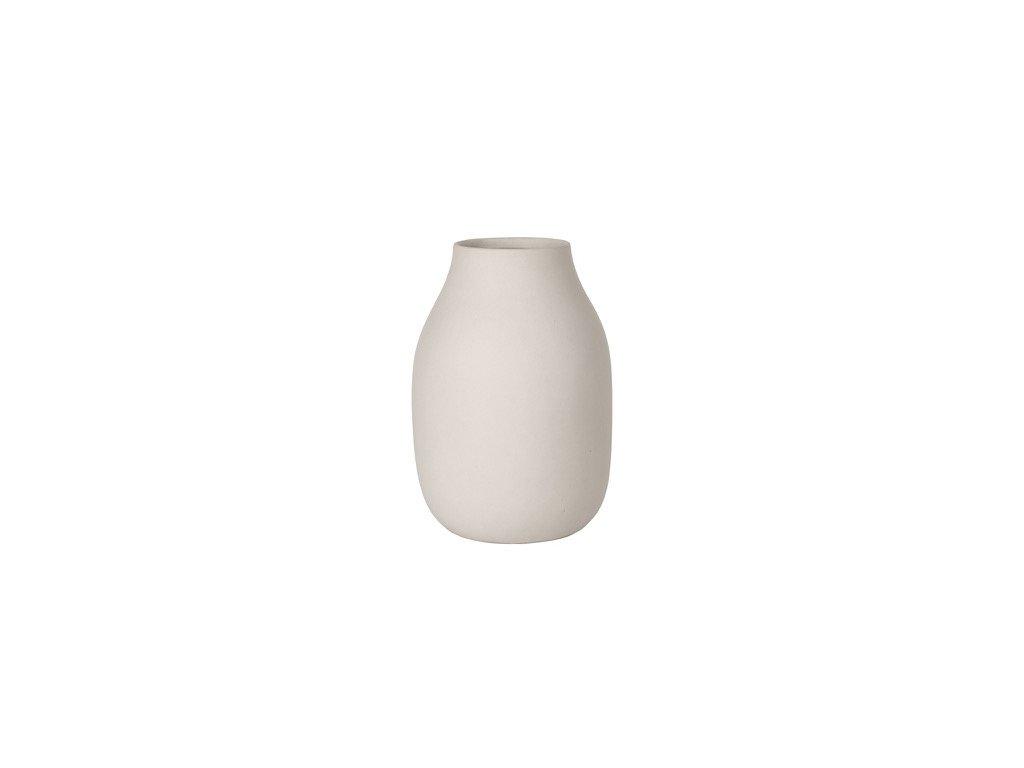 1760 1 colora vaza kremova 20 cm