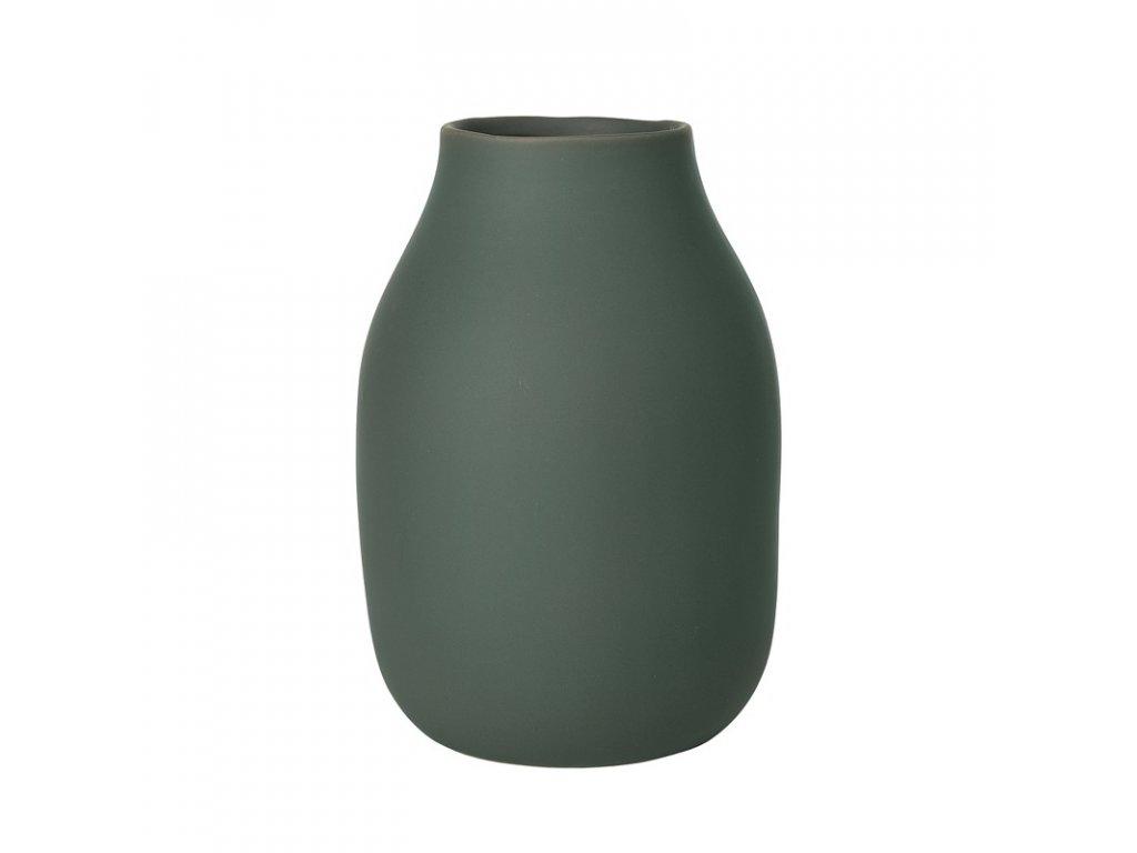 1769 1 colora vaza khaki zelena 20 cm