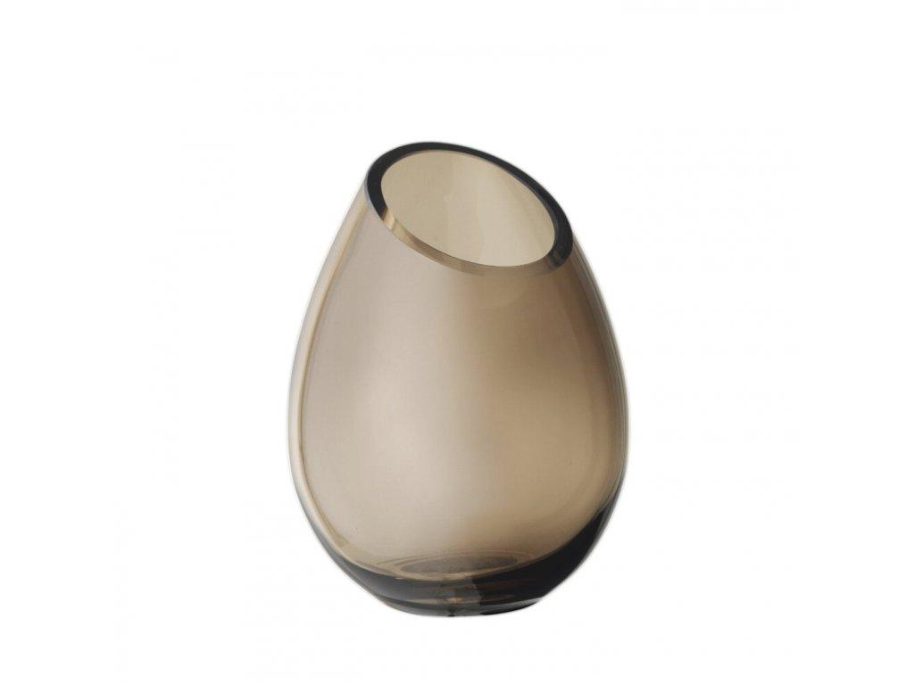 1871 2 drop vaza h 16 5 cm 12 5 cm coffee