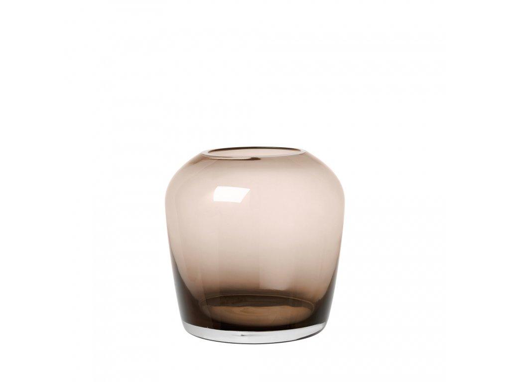 2342 1 leta hneda vaza 13 cm