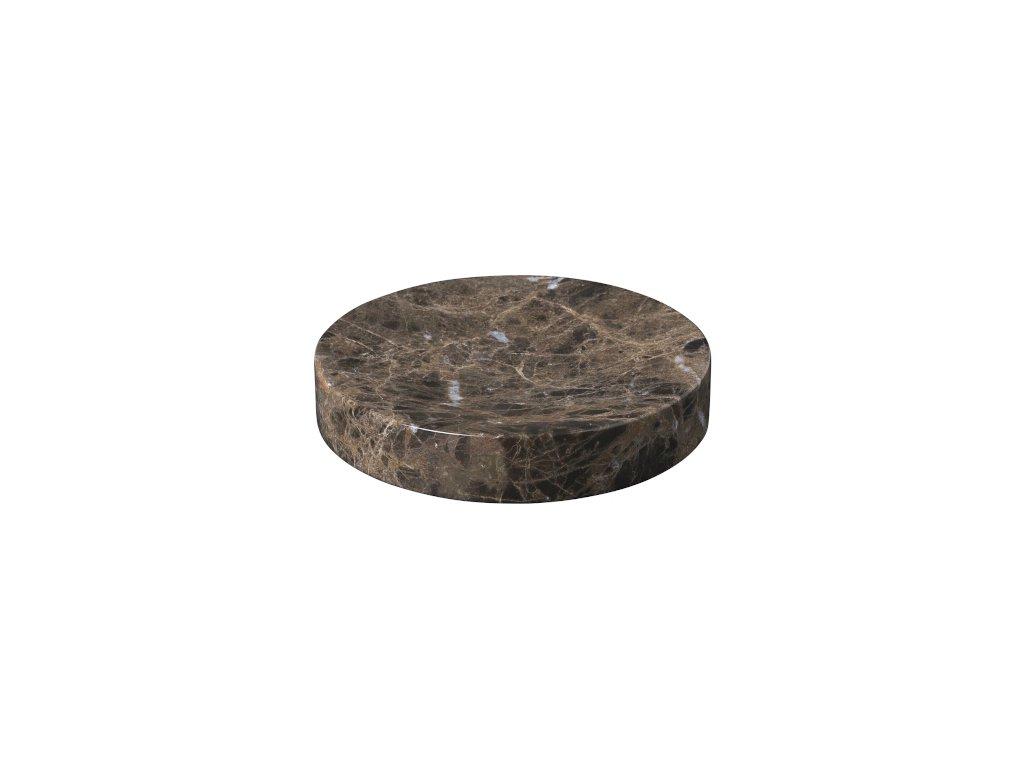2789 1 pesa mramorova podlozka 11 cm hneda