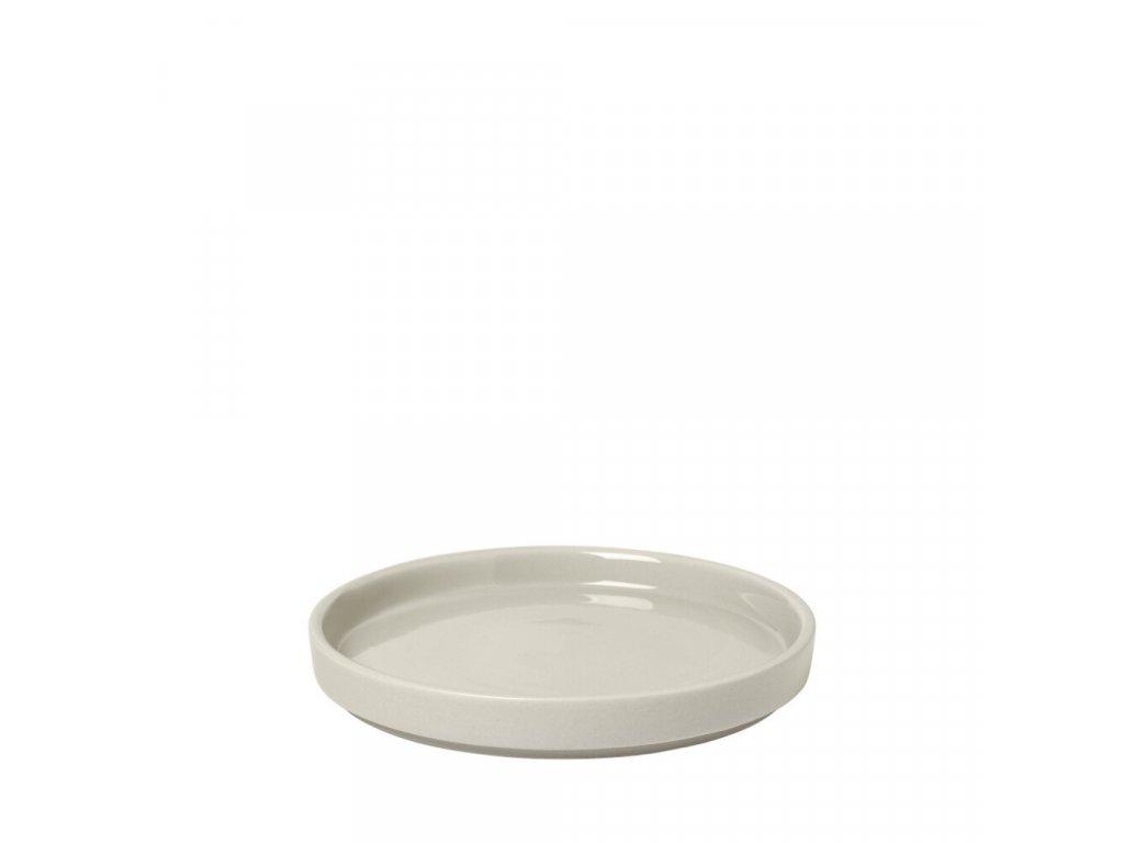 PILAR talíř S moonbeam/krémová